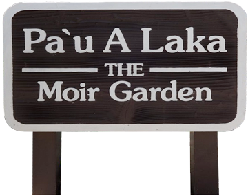 Moir Garden sign at Kiahuna Plantation